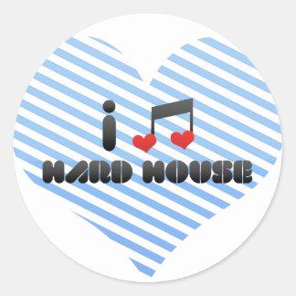 Hard House fan Stickers