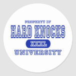 Hard Knocks University Stickers