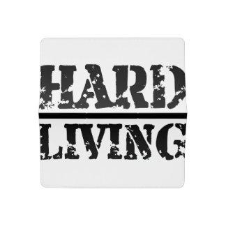 Hard Living Checkbook Cover