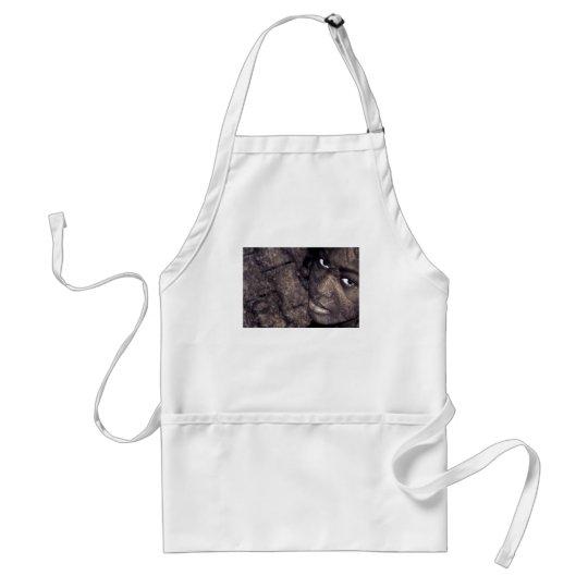 hard look adult apron