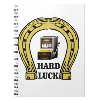 hard luck luck notebook