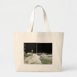 Hard Paddling Large Tote Bag