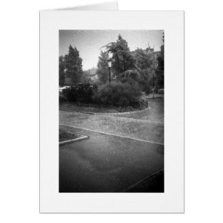 HARD RAIN Card