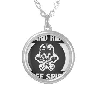 Hard ride free spirit custom necklace