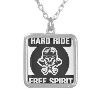 Hard ride free spirit pendants