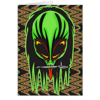 Hard Rock Alien Band Member Card