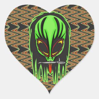 Hard Rock Alien Band Member Sticker