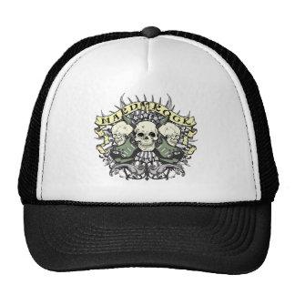 Hard Rock Skull and Guitars Hats