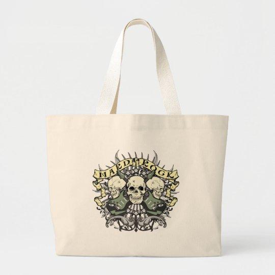 Hard Rock Skull and Guitars Large Tote Bag