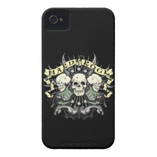 Hard Rock Skulls Guitars Music iPhone 4 4s Case Id Iphone 4 Cover