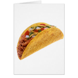 Hard Shell Taco Card