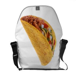 Hard Shell Taco Messenger Bag