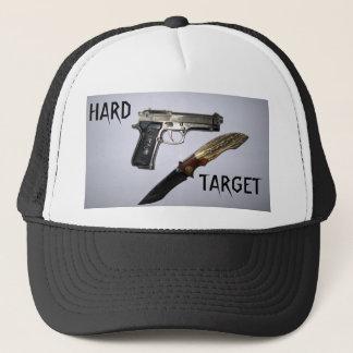HARD, TARGET TRUCKER HAT