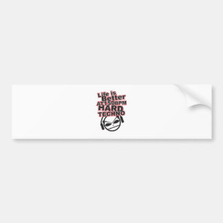 Hard-Techno-gavin-and-randys-music-taste-23744277- Bumper Sticker