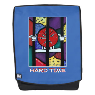 Hard Time - Blue -Time Pieces Backpack