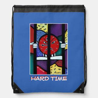 Hard Time - Blue -Time  Pieces Drawstring Bag