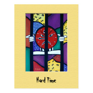 HaRd TiMe Colorful Postcard
