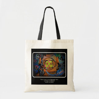 """""""Hard times for the Aquanaut"""" Canvas Bag"""