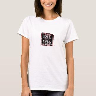 hard to the core basic shirt Girls