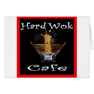 Hard Wok Cafe Thailand Card