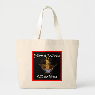 Hard Wok Cafe Thailand Large Tote Bag