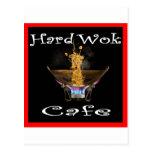 Hard Wok Cafe Thailand Postcard