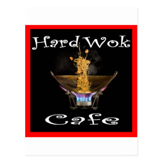 Hard Wok Cafe Thailand Postcard