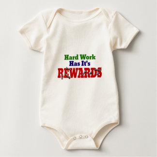 Hard Work Appreciation Baby Creeper