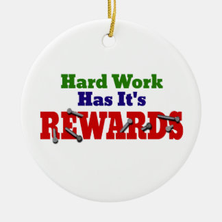 Hard Work Appreciation Christmas Ornaments