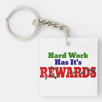 Hard Work Appreciation Keychain