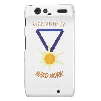 Hard Work Droid RAZR Cover