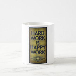 Hard Work Is Happy Work Mug