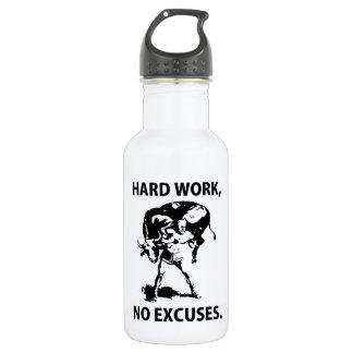 """Hard Work"" 18oz Water Bottle"