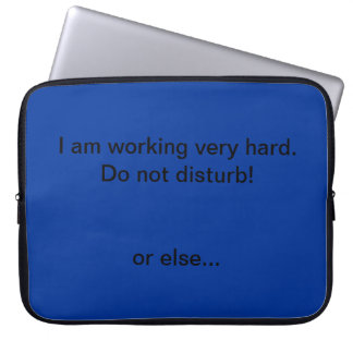 Hard Worker Laptop Sleeve