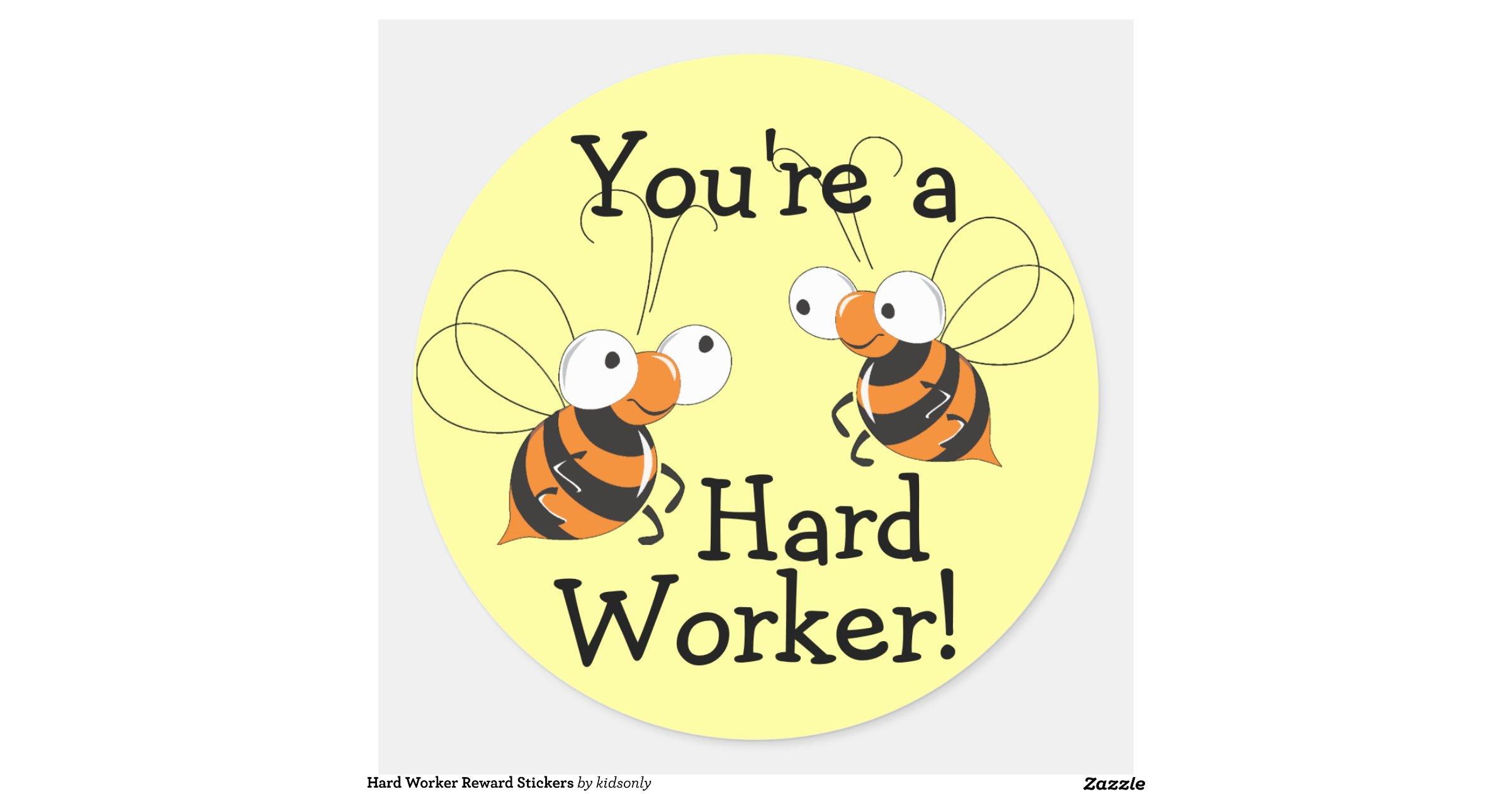 Hardworkerrewardstickers