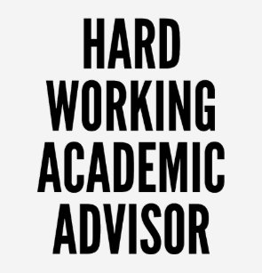 is it hard to be an academic advisor