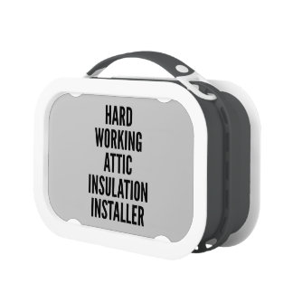 Hard Working Attic Insulation Installer Replacement Plate