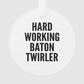 Hard Working Baton Twirler