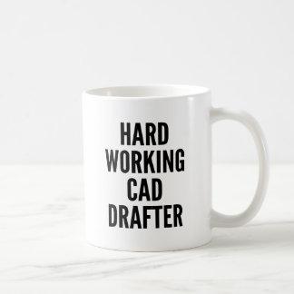 Hard Working CAD Drafter Coffee Mug