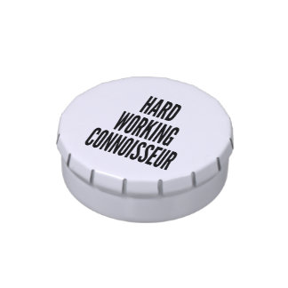 Hard Working Connoisseur Jelly Belly Tin
