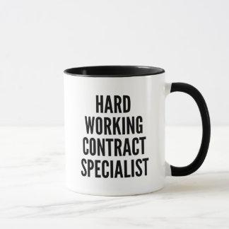 Hard Working Contract Specialist Mug