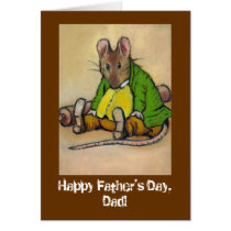 HARD WORKING DAD FATHER'S DAY CARD