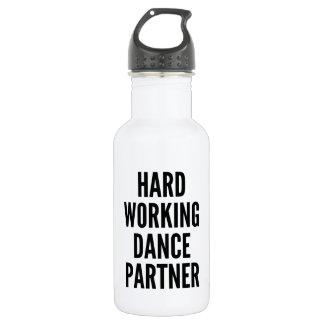 Hard Working Dance Partner Water Bottle