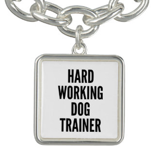 Hard Working Dog Trainer Bracelets
