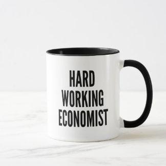 Hard Working Economist Mug