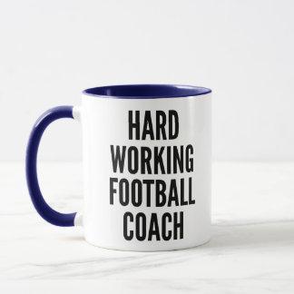 Hard Working Football Coach Mug