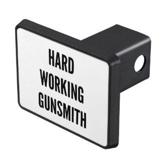 Hard Working Gunsmith Trailer Hitch Cover