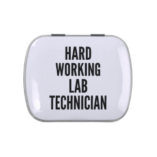 Hard Working Lab Technician Jelly Belly Tin