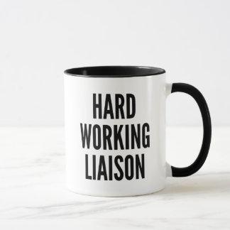 Hard Working Liaison Mug