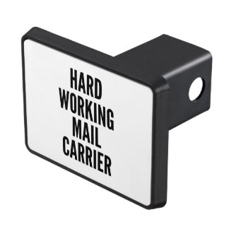 Hard Working Mail Carrier Tow Hitch Cover